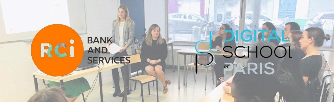 La RCI (Groupe Renault) et la Digital School Of Paris, un partenariat inscrit dans le temps